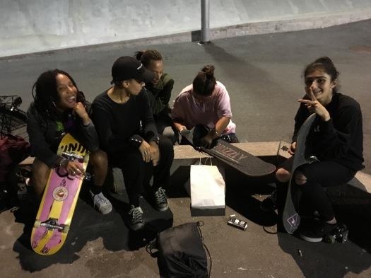 Skater gals in Stockholm